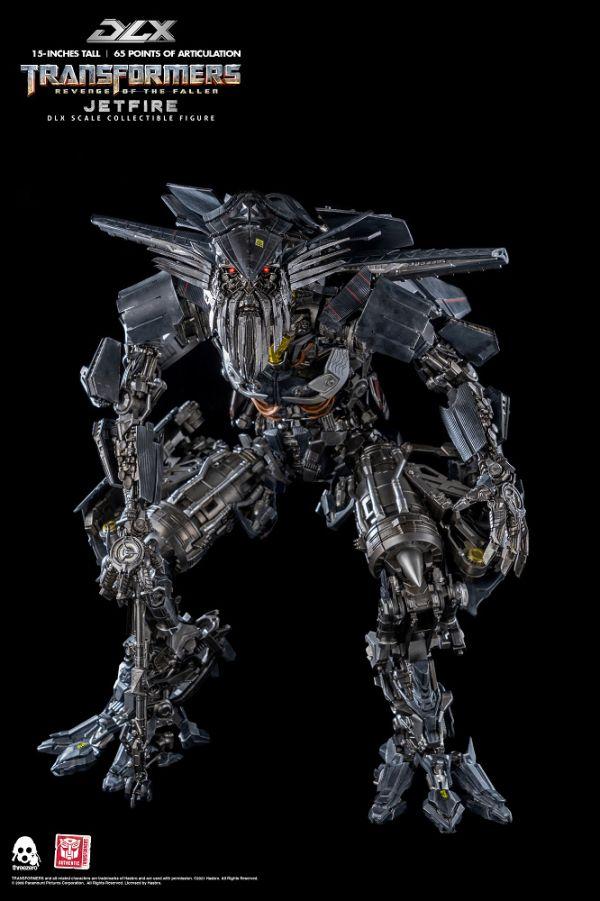 【預購】野獸國 threezero 3A 變形金剛:復仇之戰 天火 DLX版 38CM 可動模型(2022年第一季)