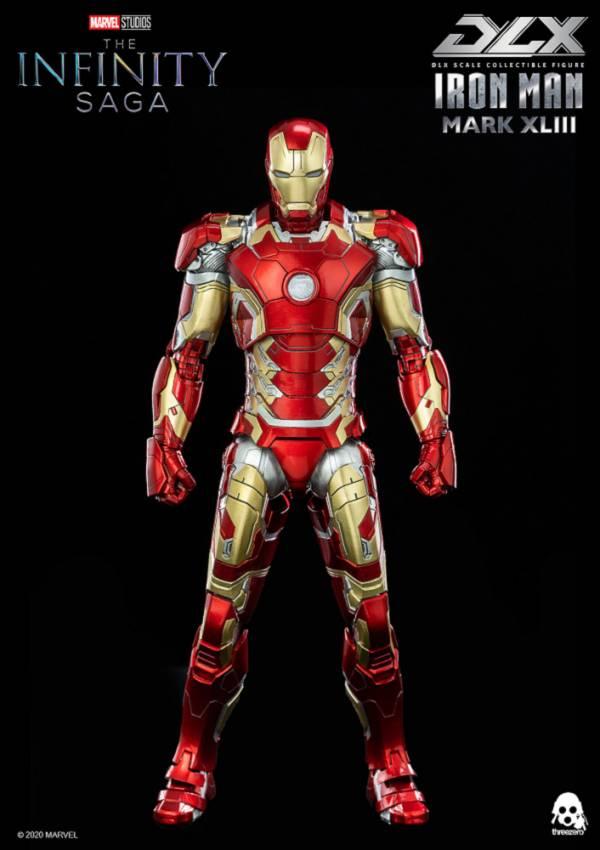 【預購】野獸國 threezero 3A 漫威Marvel 復仇者聯盟:無限傳奇 鋼鐵人 Mark 43 DLX版 可動模型 再販 (2022年第一季)