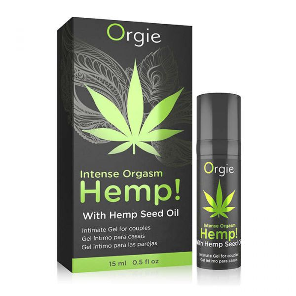 【R18現貨】葡萄牙 Orgie【刺激度爆表】INTENSE ORGASM HEMP 大麻籽油 刺激跳動凝膠 15ml