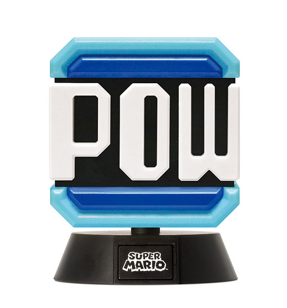 【預購】PALADONE 任天堂 超級瑪利歐 角色燈 POW磚塊 周邊(2021年07月)