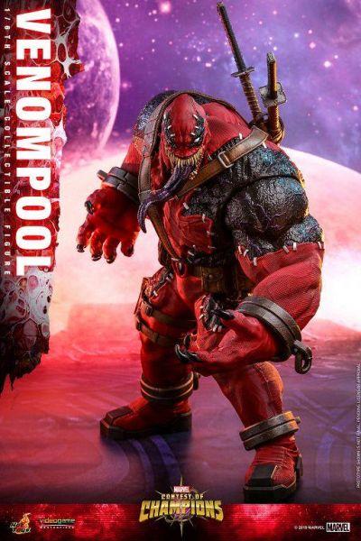 【廠商現貨】野獸國 Hot Toys VGM35 漫威Marvel 超級爭霸戰 毒侍 普通版 可動模型 ※不挑盒況