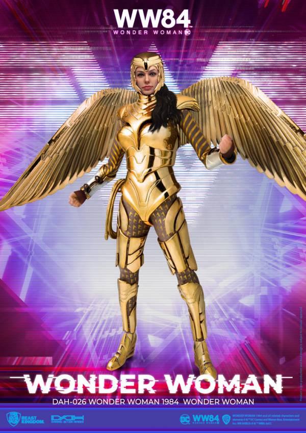 【預購】野獸國 DAH-026 神力女超人1984 神力女超人 黃金戰甲 可動模型(2021年第二季)