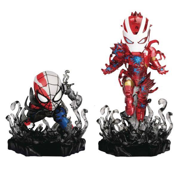 【現貨】野獸國 MEA-018 猛毒系列 蜘蛛人與鋼鐵人特別版雙人組
