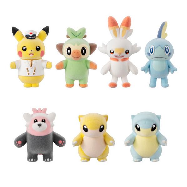 【預購】BANDAI 盒玩 精靈寶可夢 毛絨絨布偶 5 全7種 一中盒10入(2020年09月)