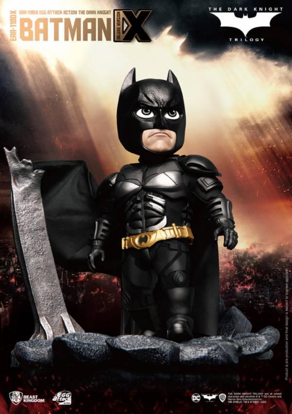 【預購】野獸國 EAA-119DX 黑暗騎士 蝙蝠俠 豪華版 可動模型(2021年第一季)
