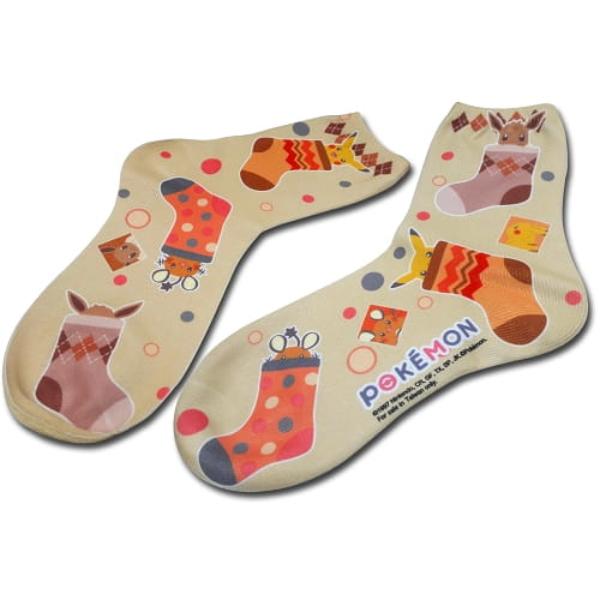 【廠商現貨】曼迪 精靈寶可夢-短筒襪-暖色系 周邊 【廠商現貨】曼迪 精靈寶可夢-短筒襪-暖色系 周邊|哆奇玩具