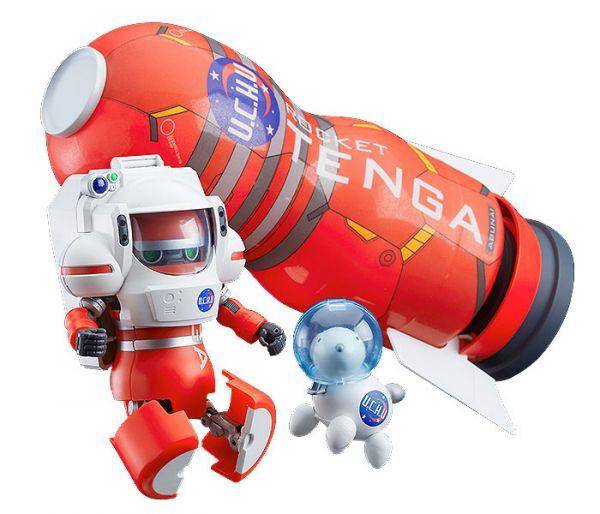 【預購】GOOD SMILE 宇宙TENGA機器人 DX火箭任務套組 可動模型(2021年06月)