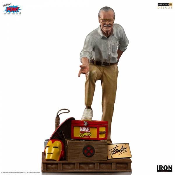 【預購】IRON STUDIOS 漫威之父 史丹李 BDS雕像 豪華版(2021年第二季)
