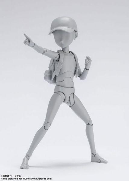 【預購】BANDAI BODY君 杉森建 Edition (Gray Color Ver.) 可動模型(2021年12月) 哆奇,玩具,預購,PVC,公仔,模型,景品,扭蛋,轉蛋,盒玩,盲盒,雕像,鋼彈,組裝,可動,黏土人,週邊,周邊,動漫,預定,預訂,BANDAI,萬代,收藏
