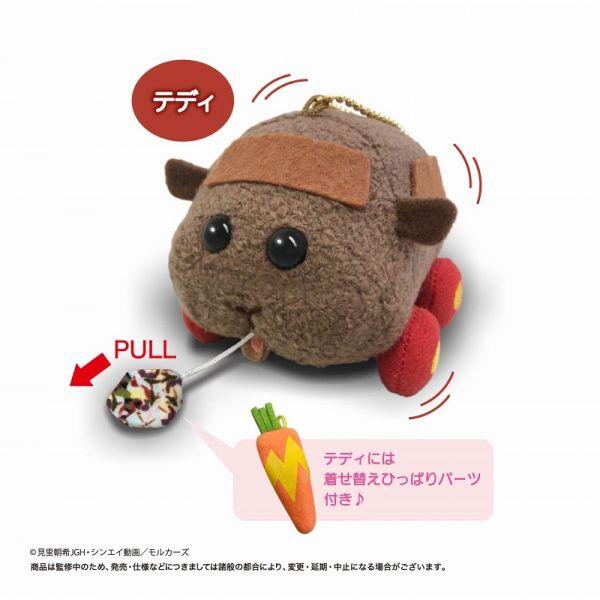 【預購】EIKOH PUI PUI 天竺鼠車車 震動玩偶 泰迪 周邊(2021年06月)