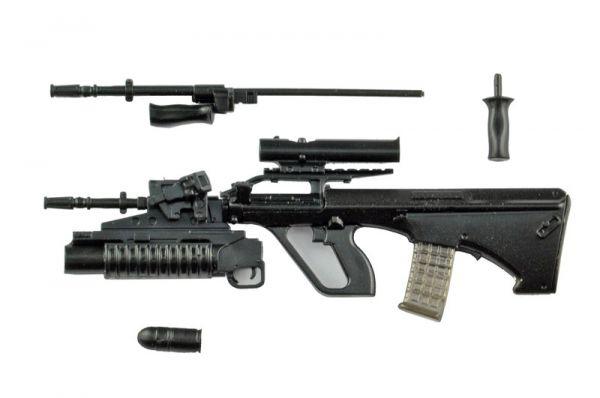 【預購】Tomytec 1/12 迷你武裝 LA066 AUG A2&M203PI TYPE 組裝模型(2021年02月)※不挑盒況