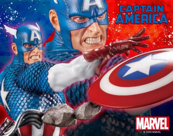 【預購】壽屋 1/9 Marvel Universe 漫威宇宙 復仇者聯盟 美國隊長 漫畫版 雕像(2021年04月)