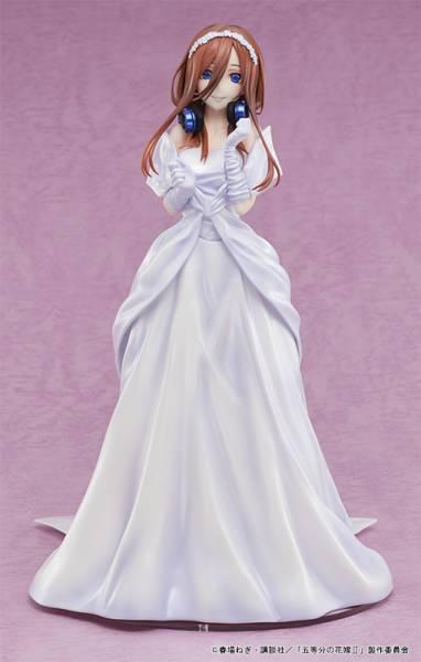 【預購】AMAKUNI 1/7 五等分的新娘∬ 中野三玖 婚紗 ver. PVC(2021年12月)