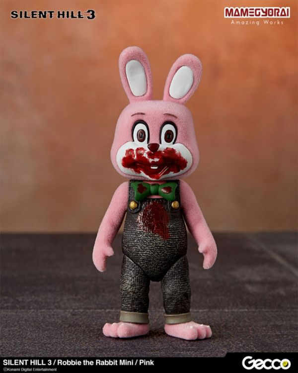 【預購】GECCO 沉默之丘3 迷你撲殺兔 粉色 約10cm(2020年12月)