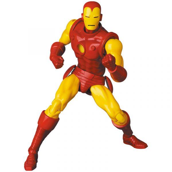 【預購】Medicom Toy MAFEX 漫威Marvel 鋼鐵人 IRON MAN (COMIC Ver.) 可動模型(2022年06月) 哆奇,玩具,預購,PVC,公仔,模型,景品,扭蛋,轉蛋,盒玩,盲盒,雕像,鋼彈,組裝,可動,黏土人,週邊,周邊,動漫,預定,預訂,漫威,Marvel,鋼鐵人