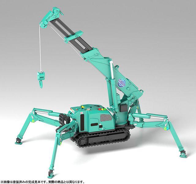 【預購】GOOD SMILE MODEROID 前田製作所 蜘蛛吊車 (綠色)  組裝模型(2021年08月)※不挑盒況