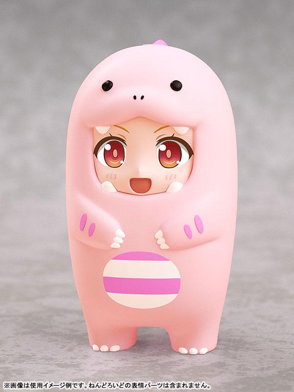 【預購】GOOD SMILE 黏土人配件系列 玩偶裝(粉紅恐龍)(2022年05月)
