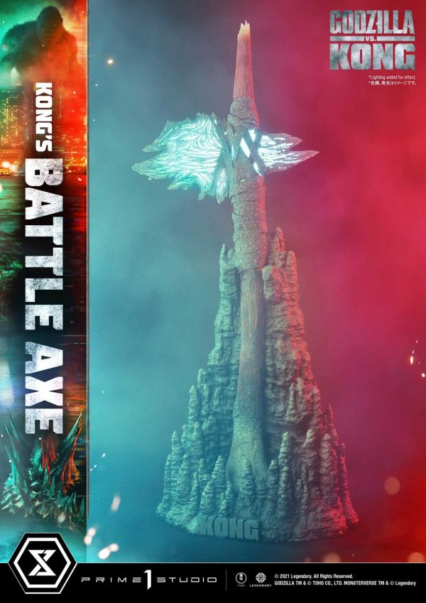 【預購】野獸國 Prime 1 Studio P1S LSGVK-03 哥吉拉大戰金剛 金剛戰斧 雕像(2023年第三季)