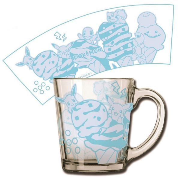 【廠商現貨】曼迪 神奇寶貝XY-透明玻璃杯-初代回憶 周邊 【廠商現貨】曼迪 神奇寶貝XY-透明玻璃杯-初代回憶 周邊|哆奇玩具