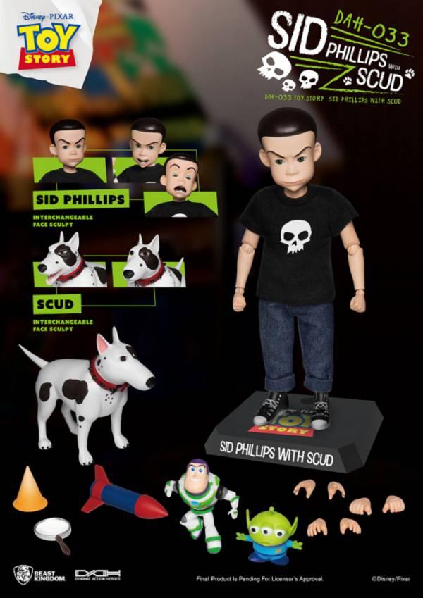 【預購】野獸國 DAH-033 玩具總動員 阿薛 飛利浦 可動模型(2021年第一季) 【預購】野獸國 DAH-033 玩具總動員 阿薛 飛利浦 可動模型(2021年第一季)|哆奇玩具