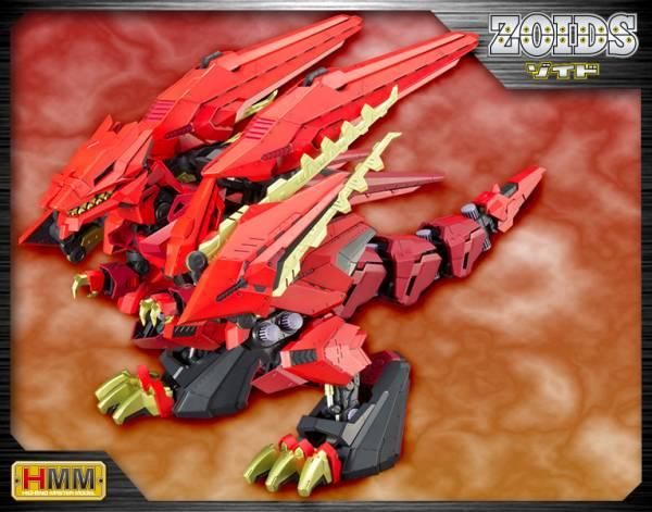 【預購】壽屋 1/72 HMM 洛伊德 EZ-049 狂暴戰龍 紅色疾風 龍鬼 組裝模型 再販(2021年07月)