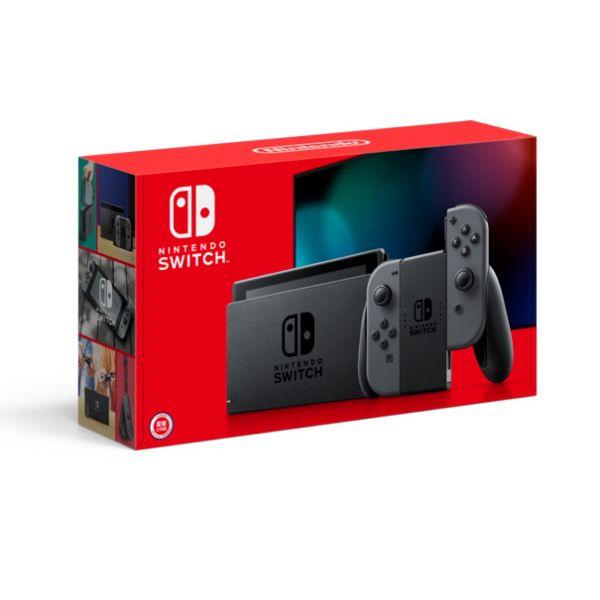 【現貨】Nintendo 任天堂 Switch 新型電力加強版灰色主機 + 精選遊戲x1 哆奇玩具,哆奇,switch,任天堂