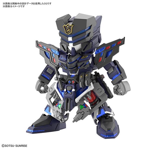 【預購】BANDAI SD鋼彈世界 群英集 翠綠暴風隊員 組裝模型 (2021年09月)※不挑盒況