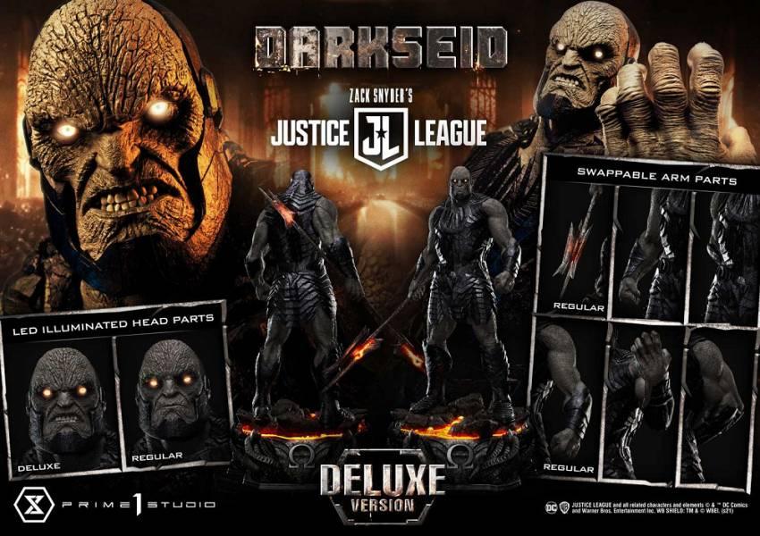 【預購】野獸國 Prime 1 Studio P1S MMJL-08DX 查克史奈德之正義聯盟 達克賽德 雕像 豪華版(2022年第四季)