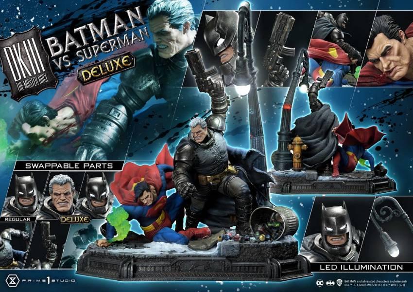【預購】野獸國 Prime 1 Studio P1S UDMDCDK3-01DX DC 黑暗騎士歸來 蝙蝠俠大戰超人場景雕像 豪華版(2022年第四季)