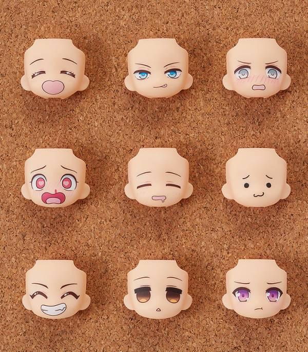 【預購】GOOD SMILE 黏土人配件系列 替換用臉部表情 GOODSMILE Selection 全9種 一中盒9入(2022年04月) 哆奇,玩具,公仔,模型,GSC,GOOD SMILE,好微笑,黏土人,配件