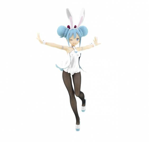【預購】FuRyu景品 VOCALOID 初音未來 BiCute Bunnies 公仔 WHITEver.(2021年02月)※不挑盒況