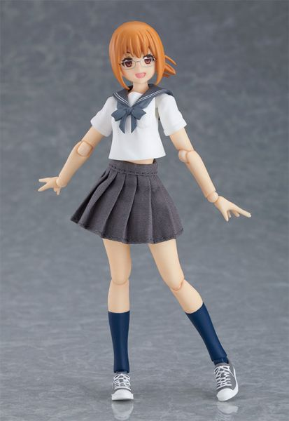 【預購】GOOD SMILE figma Styles 水手服body Emily 可動模型(2021年08月)