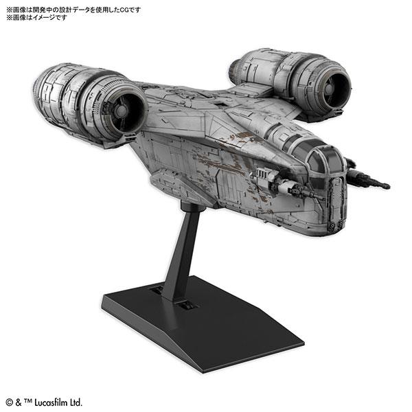 【預購】BANDAI VEHICLE MODEL 曼達洛人 刀鋒之巔 組裝模型 (2021年07月)※不挑盒況