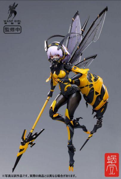 【預購】蝸之殼 1/12 WASP GIRL 黃蜂娘 可動玩具(2021年06月)