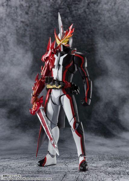 【預購】BANDAI S.H.Figuarts 假面騎士 聖刃 假面騎士Saber 勇者之龍 可動模型(2021年02月)