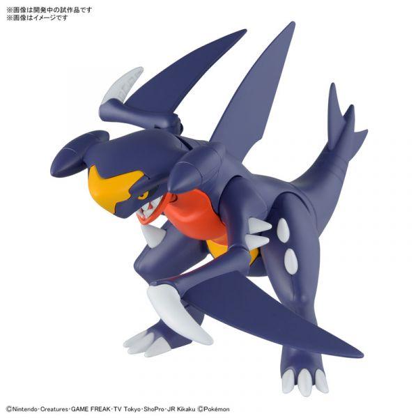 【預購】BANDAI Pokémon PLAMO 精靈寶可夢收藏集  48 烈咬陸鯊 組裝模型 (2021年08月)※不挑盒況