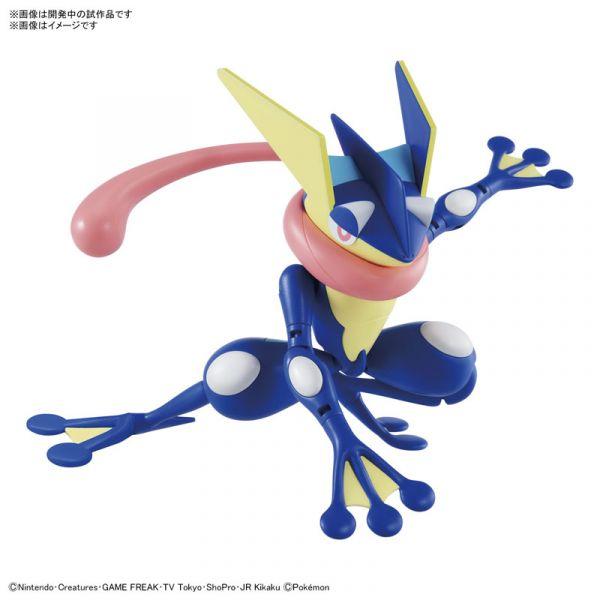 【預購】BANDAI Pokémon PLAMO 精靈寶可夢收藏集  47 甲賀忍蛙 組裝模型 (2021年07月)※不挑盒況