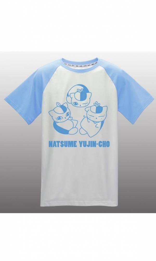 【現貨】木棉花 夏目的友人帳 拼接T-shirt(愜意)-夏目劇場版XL