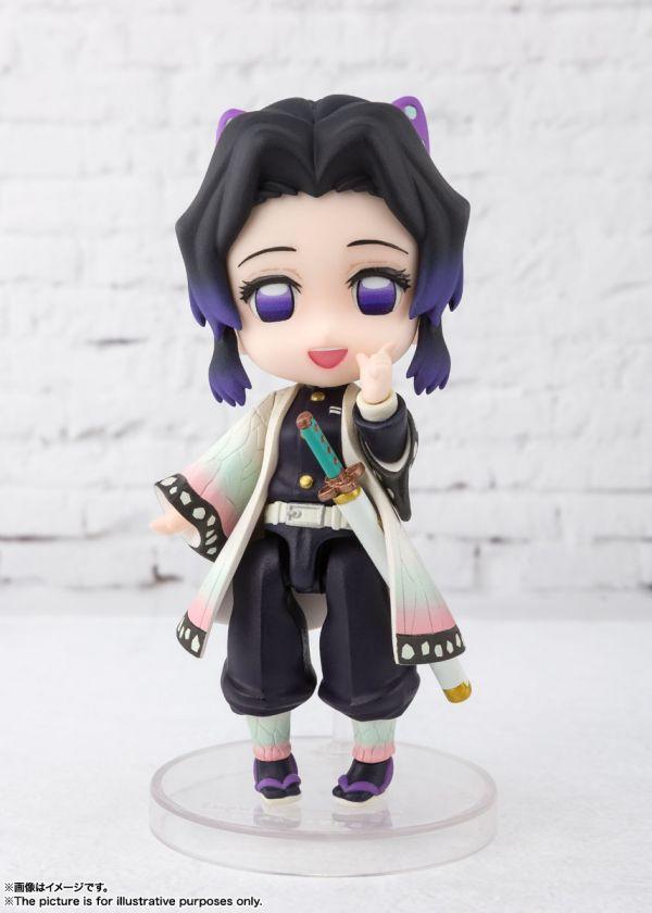 【預購】BANDAI Figuarts mini 鬼滅之刃 胡蝶忍 蝴蝶忍 蟲柱 可動模型(2020年12月)