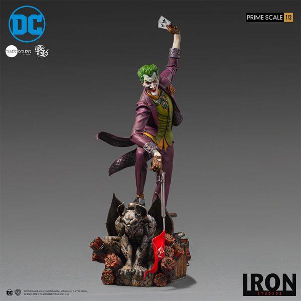 【預購】Iron Studio 1/3 DC Joker 小丑 by Ivan Reis 雕像(2020年第四季)