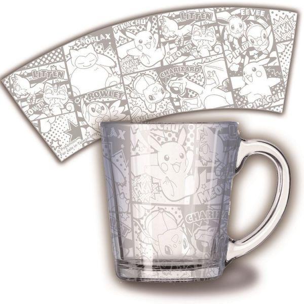【廠商現貨】曼迪 精靈寶可夢-透明玻璃杯-銀色漫畫 周邊 【廠商現貨】曼迪 精靈寶可夢-透明玻璃杯-銀色漫畫 周邊|哆奇玩具