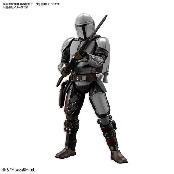 【預購】BANDAI 1/12 曼達洛人 (貝斯卡金屬武裝)  組裝模型 (2021年07月)※不挑盒況