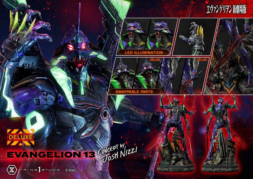 【預購】野獸國 Prime 1 Studio P1S UDMEVA-05DX 福音戰士:新劇場版 EVA十三號機 Josh Nizzi設計師款 雕像 豪華版(2022年第四季)