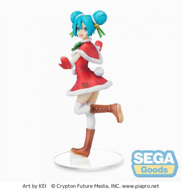 【預購】SEGA景品 SPM VOCALOID 初音未來 聖誕 2021ver.(2021年11月)※不挑盒況