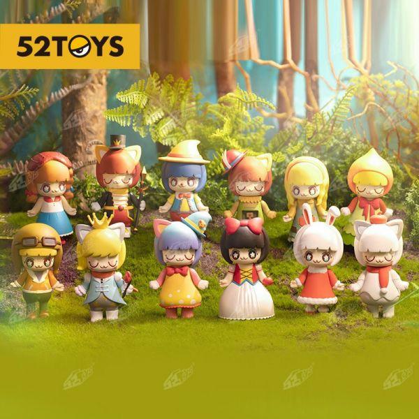 【廠商現貨】52TOYS 盲盒盒抽 盒玩 KIMMY&MIKI 童話系列2一中盒10入 不保證成套