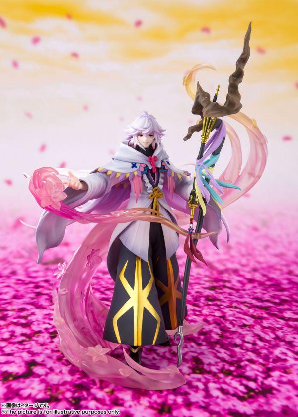 【哆奇現貨】BANDAI Figuarts ZERO 超激戰 Fate/Grand Order FGO 花之魔術師 梅林 PVC ※不挑盒況