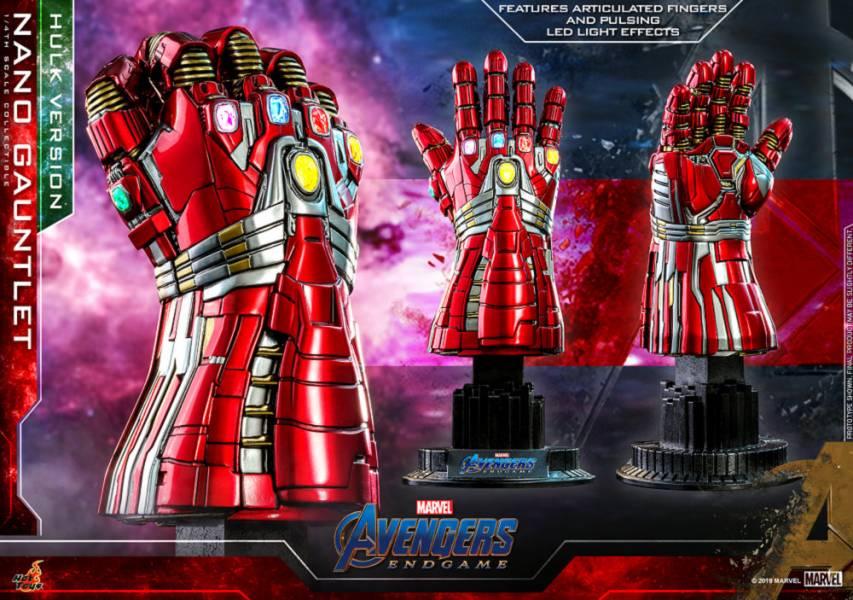 【現貨】Hot Toys ACS009 復仇者聯盟:終局之戰 1/4 奈米手套 浩克版