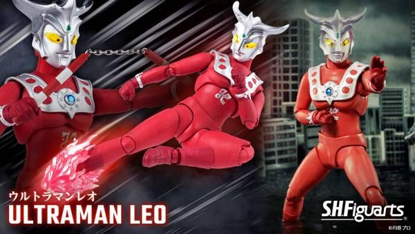 【預購】BANDAI S.H.Figuarts 超人力霸王 雷歐 可動模型(2021年11月)