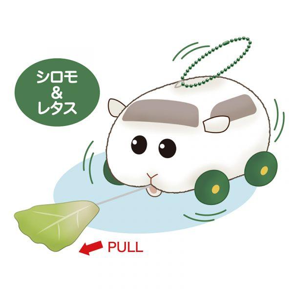 【預購】EIKOH PUI PUI 天竺鼠車車 震動玩偶 西羅摩 周邊(2021年06月)