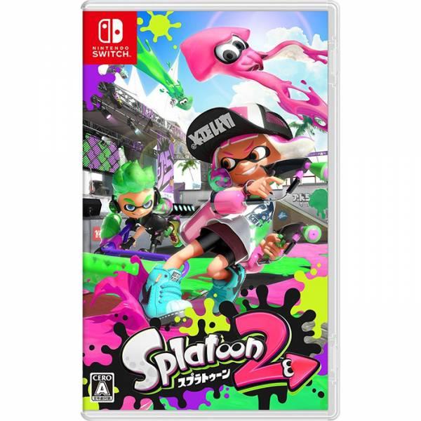 【廠商現貨】Nintendo 任天堂Switch 遊戲 漆彈大作戰 2《日文版》 哆奇玩具,哆奇,switch,任天堂